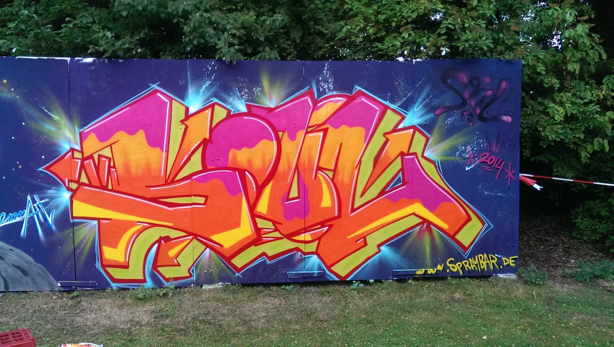 """""""Soul""""-Style, Spraybar"""