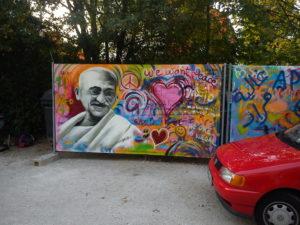 Graffiti Frieden