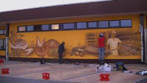 Graffitiauftrag Ebner Rückwand_1