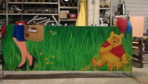 Graffitiauftrag Ebner Spielplatz