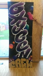 Graffitiauftrag Oxygen Style