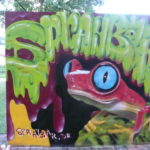 Graffiti-Jam am Donauufer