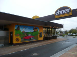 Graffitiauftrag Drive-In Ebner