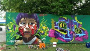 Graffiti-Hall 2015
