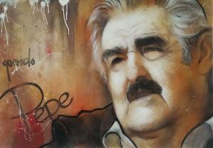 Graffiti Leinwand Pepe Mujica