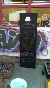 Graffiti Entstehung