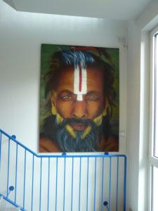 Graffiti Leinwand Sadhu