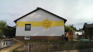 Graffitiauftrag Sonne Pfeffenhausen