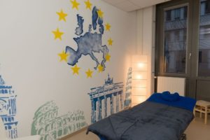 Graffitiauftrag europa