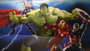 Graffitiauftrag Avengers Graffiti