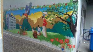 Graffitiauftrag Hamburg Fruchtallee 4