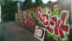 Graffitiauftrag Container Styles Glöckl 2
