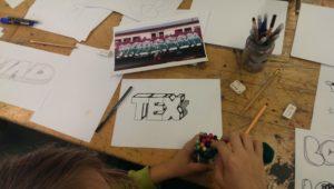 Graffiti Buchstabenlehre Zeichenübungen