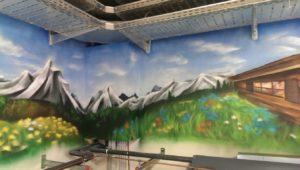 Graffitiauftrag REWE 3