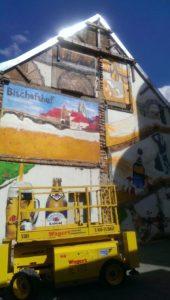 Graffitiauftrag Bischohfshof