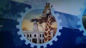 Graffitiauftrag FH Wedel Südafrika