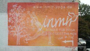 Graffitiauftrag inmir Yoga Hamburg Altona