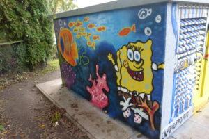 Graffitiworkshop Stromkasten Börnsen Ergebnis 1