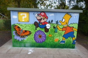 Graffitiworkshop Stromkasten Börnsen Ergebnis 2