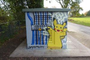 Graffitiworkshop Stromkasten Börnsen Ergebnis 3