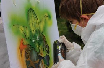 Graffiti Workshop Kindergeburtstag 4