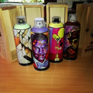 mtn Limited Edition artist cans