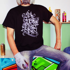 Graffiti Shirt: Make Grafffiti Great Again