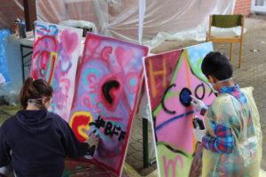 Graffiti Workshop Jugendtreff Kröppelshagen
