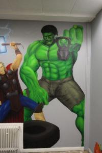 Graffitiauftrag Hyper Gym Hulk