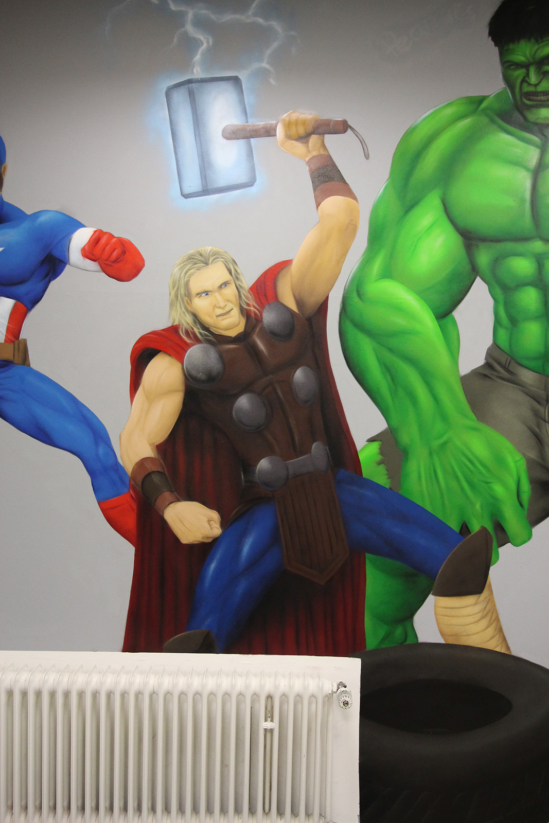 Graffitiauftrag Hyper Gym Thor