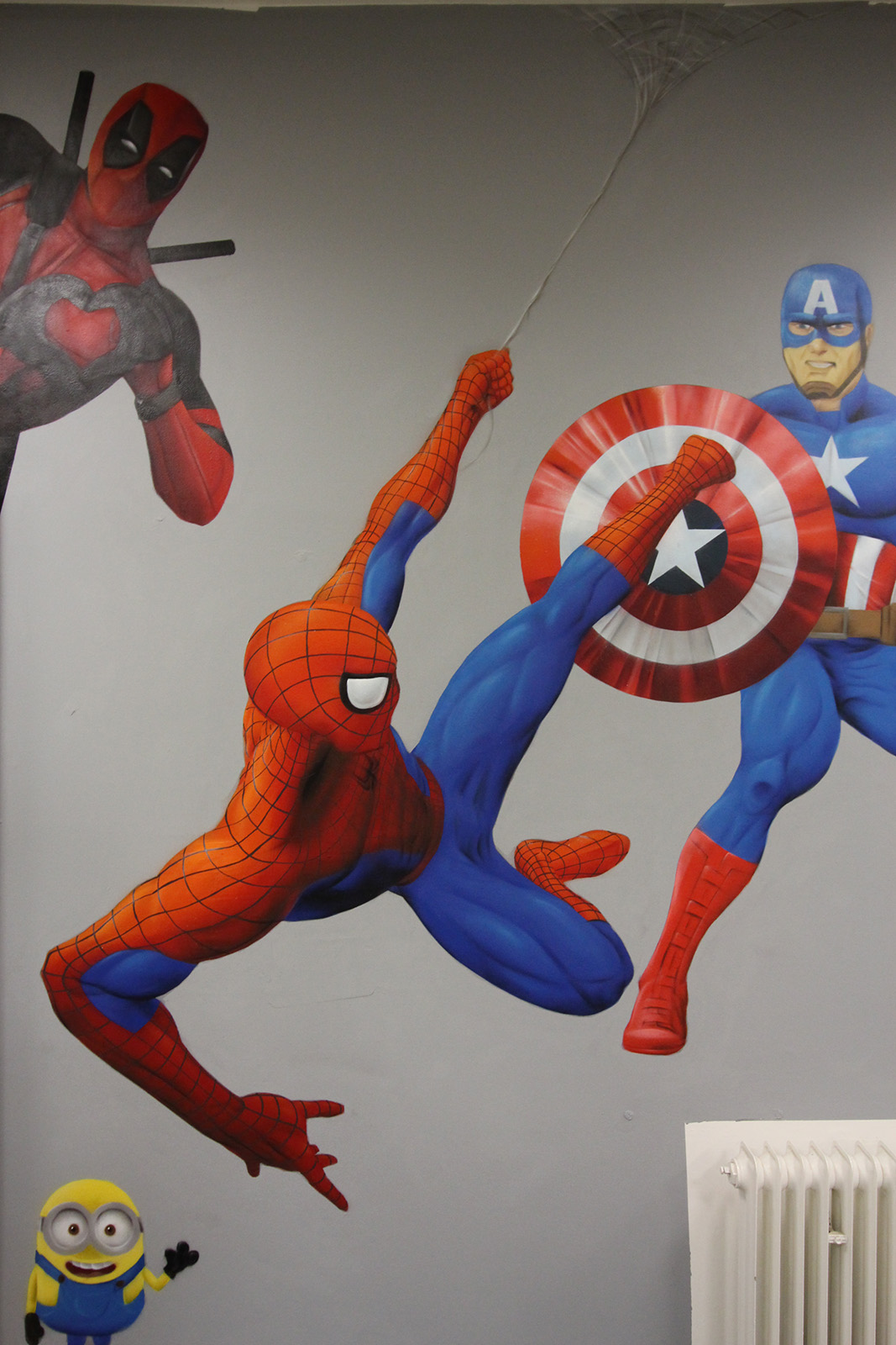 Graffitiauftrag Hyper Gym Spider-Man