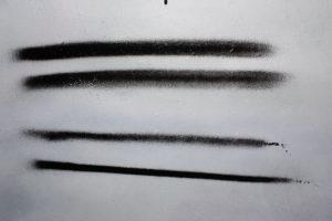 Sprühkopf Position Finger