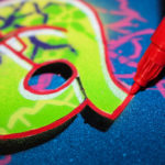 DIY Sprüh-Anleitung: dein Name als Stencil-Graffiti