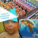 Sprüh- und Graffiti-Workshop 6.+7. Juli in Hamburg - Jetzt anmelden!