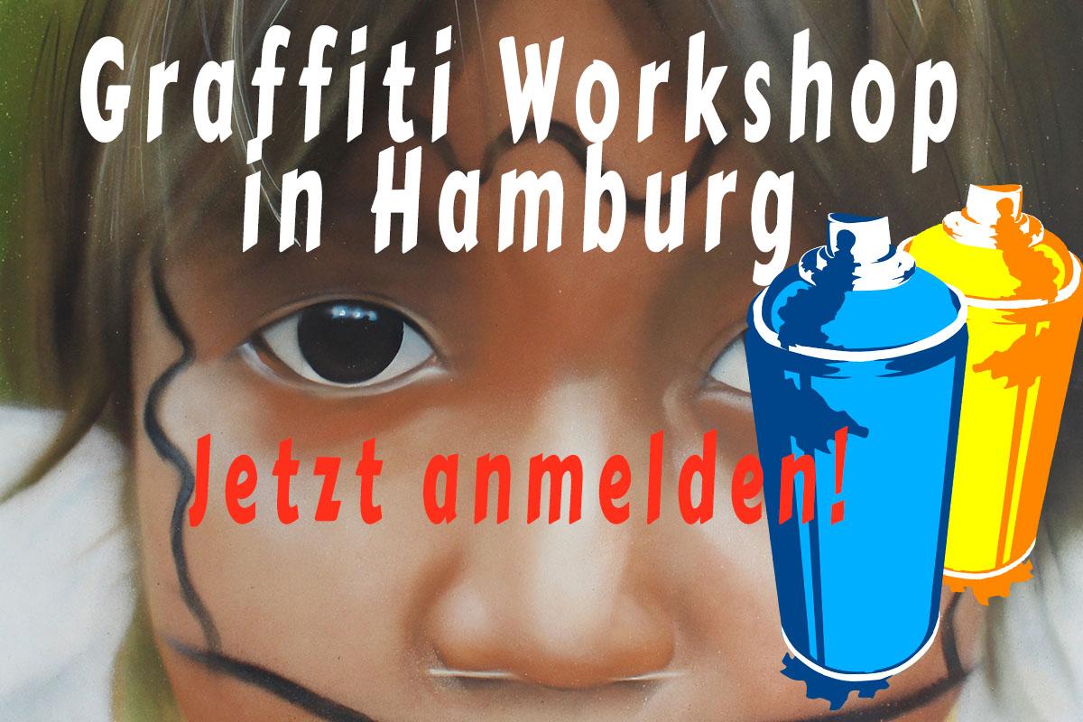 Graffiti Workshop in Hamburg